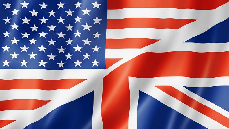 Bandera de USA y UK