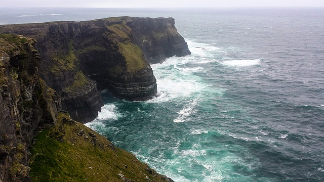 Monumentos de Irlanda. Cliffs of Moher