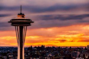 Aeropuertos más importantes de Estados Unidos. Seattle, Washington.
