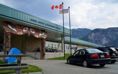 Ranking de los mejores colegios de Canadá. Howe Sound Secondary School