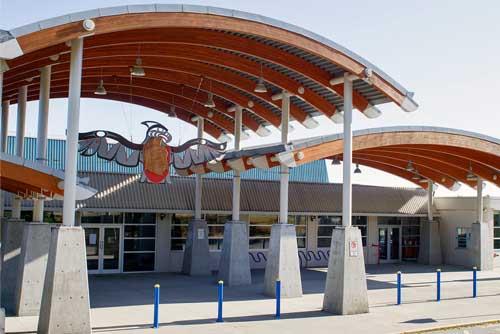 Mejores colegios en Canadá. West Vancouver Secondary school. Colegio en la provincia de Britih Columbia