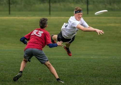 Ultimate frisbee en los colegios de USA